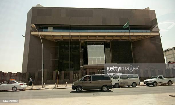 The headquarters of Saudi Arabia's central bank stand in Riyadh Saudi Arabia on Tuesday May 8 2012 Saudi Arabia's stock market is the Gulf...