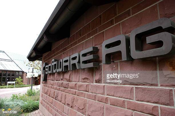 The headquarters of Software AG is seen in Darmstadt, Germany, Tuesday, October 24, 2006.