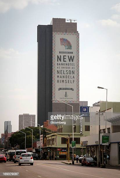 The headquarters of South Africa's Reserve Bank also known as the central bank stand in Pretoria South Africa on Thursday May 23 2013 South Africa's...