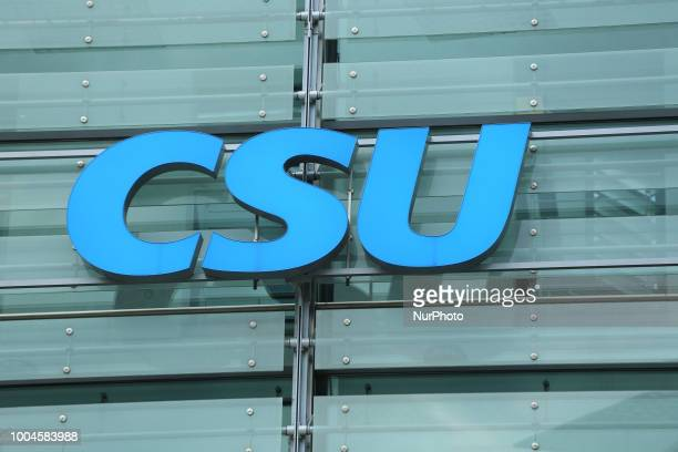 The headquarters of the Christian Social Union are seen in the MiesvanderRoheStrasse in Munich The party has been in the critic because of their...