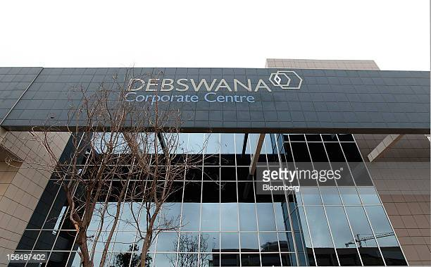The headquarters of the Debswana Diamond Co a joint venture between the Botswana government and De Beers stand in Gaborone Botswana on Thursday Oct...
