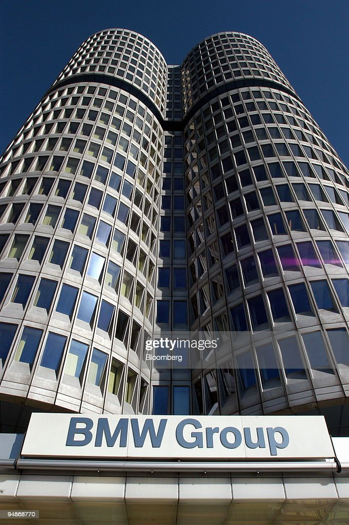 The headquarters of the German carproducer Bayerische Motore : News Photo