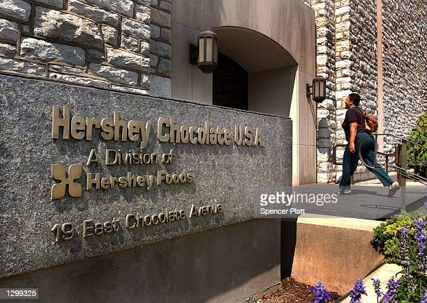 The headquarters of the Hershey Choclate Company August 7 2002 in Hershey Pennsylvania The Hershey Trust said Wednesday after a special meeting of...