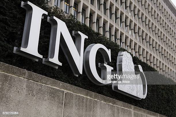The Headquarters Of Ing Bank Belgium At Trone Square In Brussels Will Be Closing