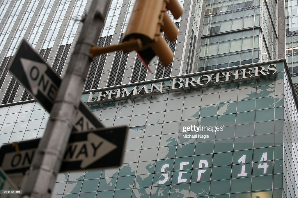 Lehman Brothers Faces Bankruptcy As Top Bidders Pull Out : News Photo