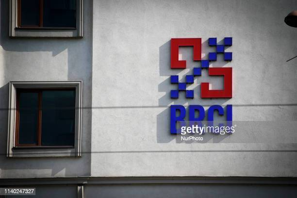 The headquarters of the Romanian Credit and Investment Bank BRCI is seen in central Bucharest Romania on April 30 2019