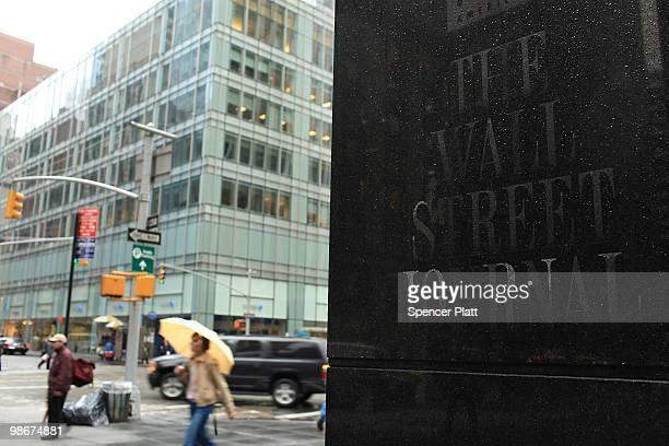 The headquarters of The Wall Street Journal on April 26 2010 in New York City The Wall Street Journal commenced a New York edition today that will...