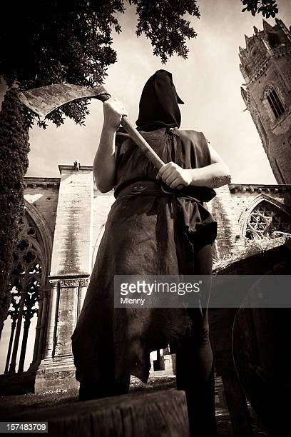 the headsman - headless man stock pictures, royalty-free photos & images