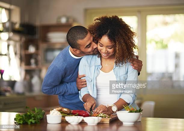 the healthy marriage is a happy marriage - black cook fotografías e imágenes de stock