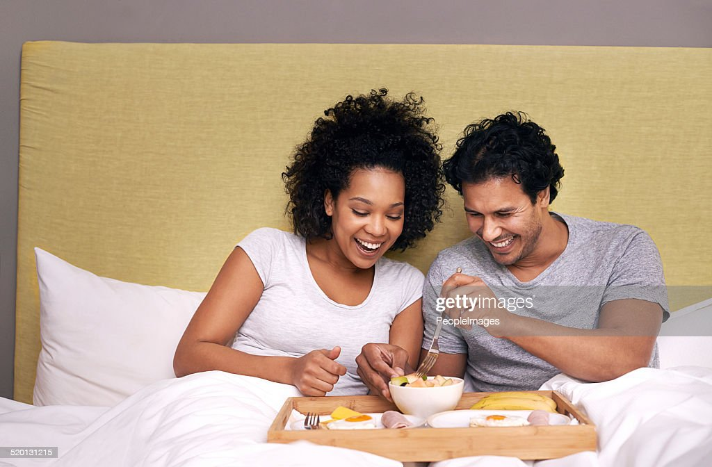 The healthy way to wake up : Stock Photo