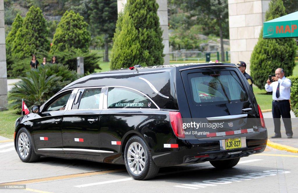 PER: Funeral of Late Peruvian Ex-President Alan Garcia