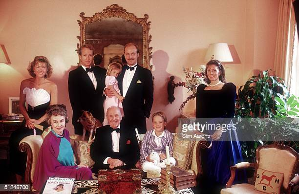 back row Christine Austin William III and his wife front row Mrs William Randolph Jr William Randolph Jr and his grandson in Westchester New York