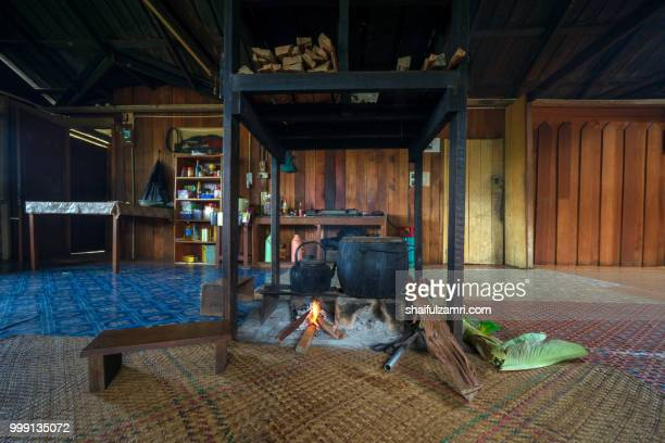 The hearth is centre of life, its where meals are cooked based on rice for Kelabit. Kelabit longhouses are made up of row of hearths, each belonging to one family.