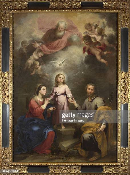 The Heavenly and Earthly Trinities c 1680 Found in the collection of the National Gallery London