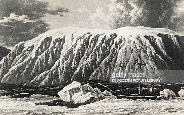 The Hecla and Griper the ships William Parry used to set sail to discover the Northwest Passage September 20 drawing History of exploration 20th...