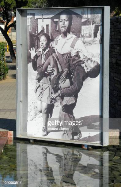 The Hector Pieterson memorial in a park in Soweto in Johannesburg South Africa 24 May 2016 On 16 June 1976 12yearold Hector was shot by policemen...