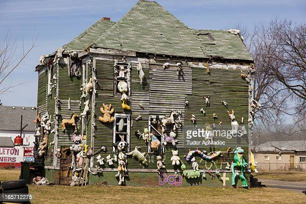 CONTENT] The Heidelberg Project is an outdoor art project in Detroit Michigan It was created in 1986 by artist Tyree Guyton and his grandfather Sam...