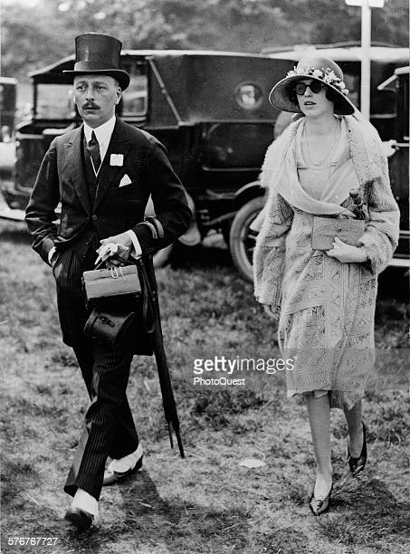 The height of fashion rules at the Ascot races held at Ascot Heath near Windsor England 1926