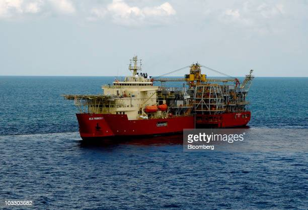 The Helix Producer 1 vessel works at the BP Plc Macondo well site in the Gulf of Mexico off the coast of Louisiana US on Saturday Aug 7 2010 BP plans...