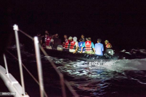 The Hellenic Coast Guard crew with the vessel 602 based in Mithimna or Molyvos in the northern part of Lesvos island did find in the night and lead...