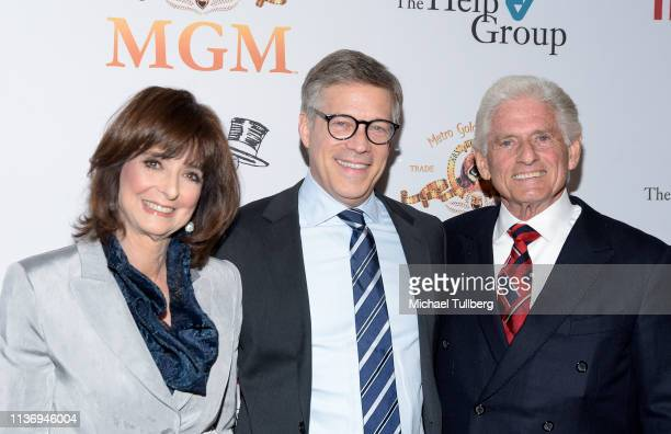 The Help Group CEO D Barbara Firestone Steve Stark president of television and development at MGM and The Help Group Chairman of the Board Gary...