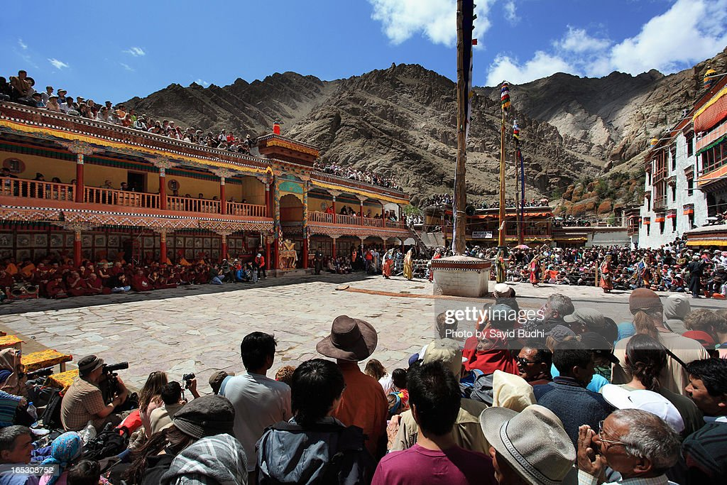 The Hemis Tse Chu Festival, Ladakh : Stock Photo