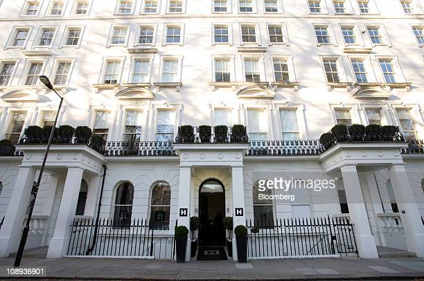 The Hempel Hotel operated by Hempel Hotel's Ltd stands in London UK on Wednesday Feb 9 2011 About 11 million people will probably visit the British...