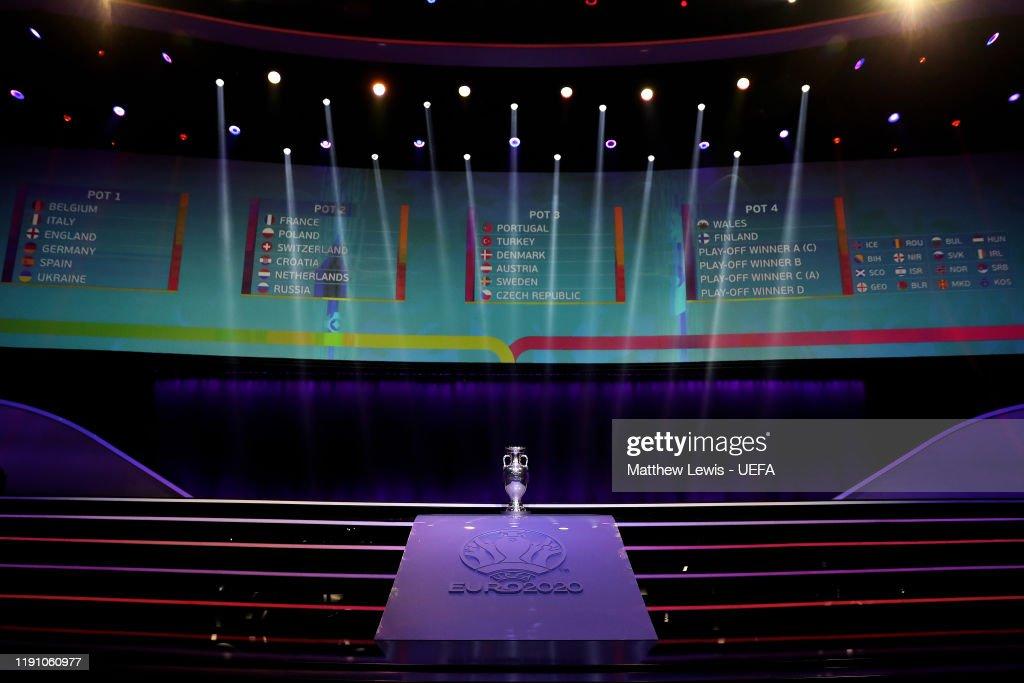 UEFA Euro 2020 Final Draw Ceremony : News Photo