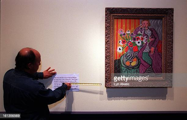 The Henri Matisse exhibit will open at the Denver Art Museum on March 12. The museum is getting the exhibit ready. Art Bernal from the museum's...