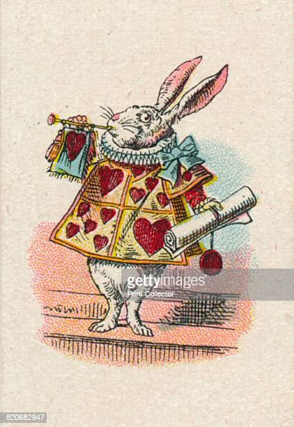 The Herald 1930 'The Herald' from Lewis Carroll's 'Alice in Wonderland' After an illustration by John Tenniel colour printed by Edward Evans From the...