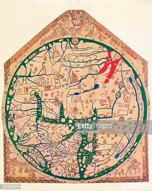 The Hereford Mappa Mundi c1285 The Hereford Mappa Mundi is currently on display at Hereford Cathedral in Hereford England It is the largest medieval...