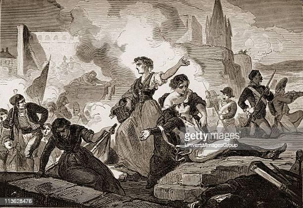 The heriones of GeronaSpain 1809