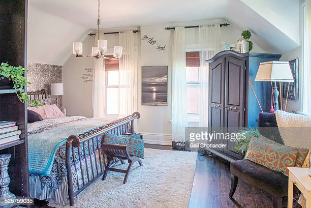 the heritage master bedroom - grace gail stock pictures, royalty-free photos & images