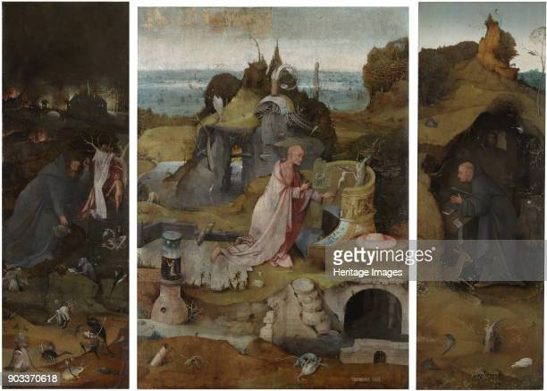 The Hermit Saints Triptych Found in the Collection of Palazzo Ducale Venice