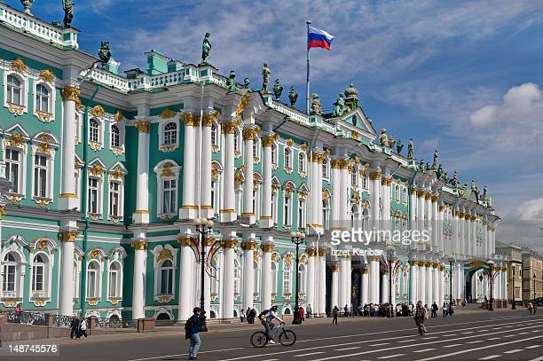 The Hermitage or Winter Palace.