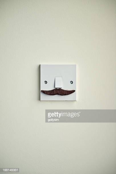 The Hero Mustache Light Switch