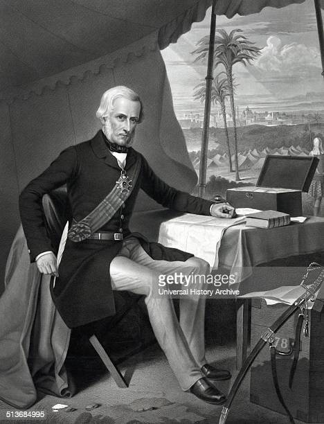 The hero of Lucknow presented to the Albion subscribers New York drawn and engraved by AH Ritchie 18221895 dated 1859 Sir Henry Havelock fulllength...
