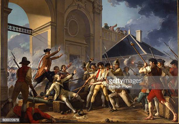 The heroic courage of the young Désilles August 31 in the Nancy Affair 1794 Found in the collection of Musée des BeauxArts Nancy Artist Le Barbier...