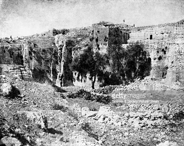 The Hexapylon Syracuse Sicily Italy 1846 Print from a paper negative by George Wilson Bridges The Hexapylon Syracuse Sicily Italy 1846 Print from a...