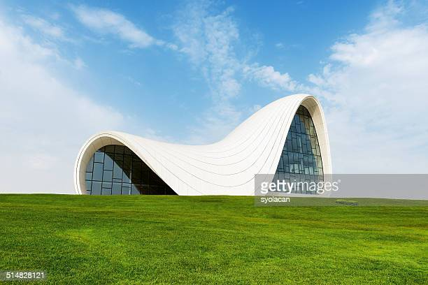 The Heydar Aliyev cultural Center in Baku