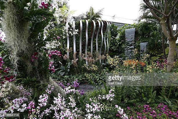 The Hidden Beauty of Kranji show garden designed by John Tan and Raymond Toh and sponsored by Esmond Landscape and Uniseal is pictured on the press...