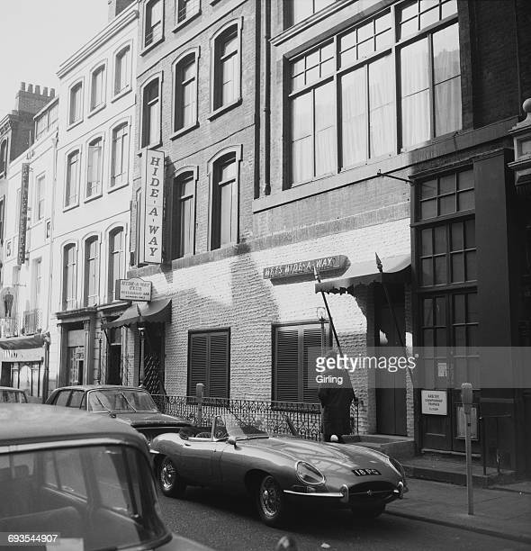 The Hideaway Club in Soho recently acquired by the Kray twins who changed the club's name to El Morocco London 5th April 1965