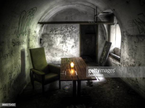 the hideout - bunker stock pictures, royalty-free photos & images