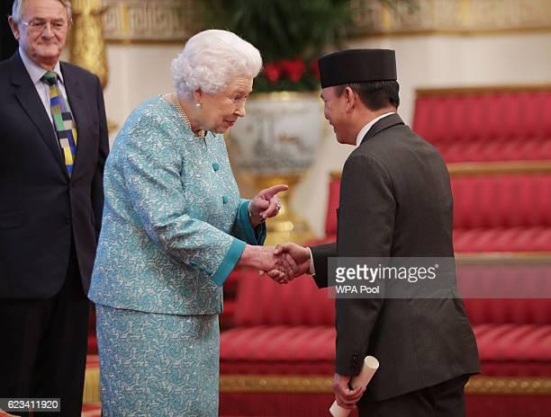The High Commissioner for Brunei Darussalam His Excellency Major General Dato Paduka Seri Haji Aminuddin Ihsan Bin Pehin Orang Kaya Saiful Mulok Dato...