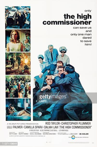 The High Commissioner poster US poster art Camilla Sparv Christopher Plummer Rod Taylor 1968