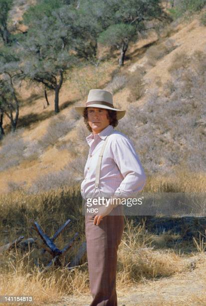 PRAIRIE The High Cost of Being Right Episode 9 Aired Pictured Michael Landon as Charles Ingalls Photo by Ted Shepherd/NBCU Photo Bank