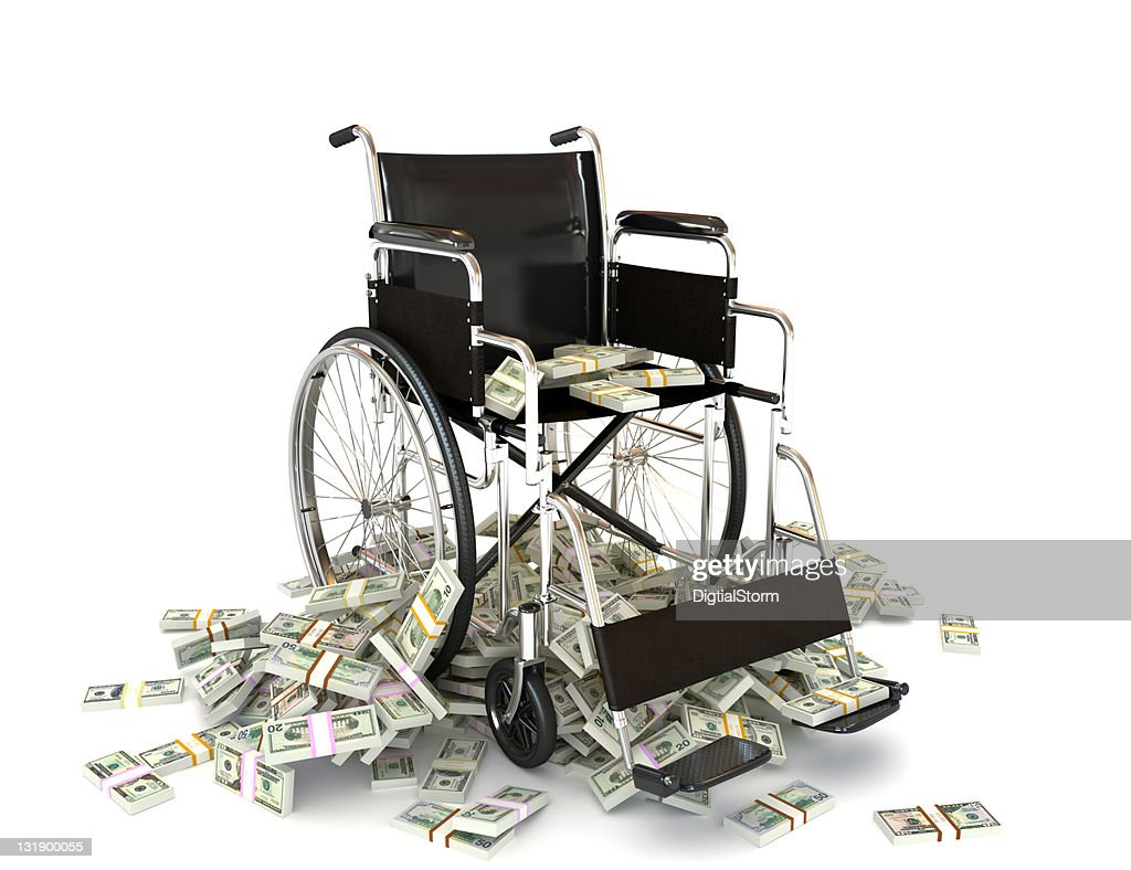 The high costs of medical care : Stock Photo
