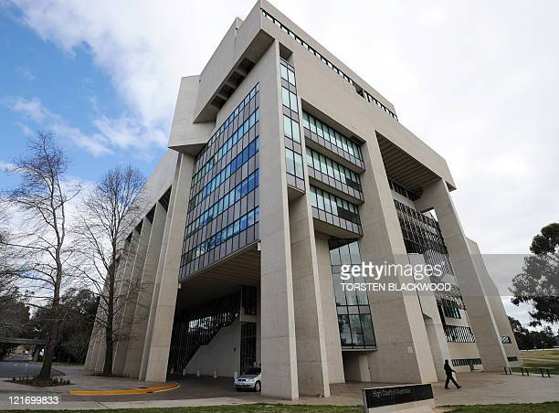The High Court of Australia in Canberra begins to hear a legal challenge to the government's proposed refugee swap with Malaysia on August 22, 2011....