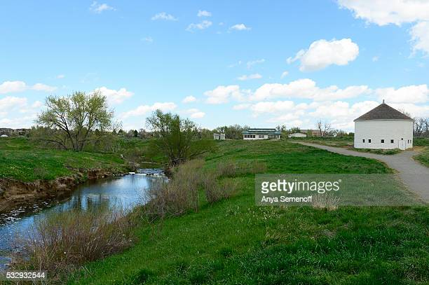 The High Line Canal Trail runs beside the canal just west of DeLaney Community Farm on May 11 in Aurora Colorado The city of Aurora is working with...