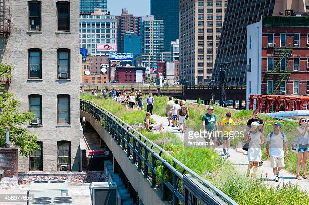 High Line Park Stock Pictures Royalty Free Photos Images
